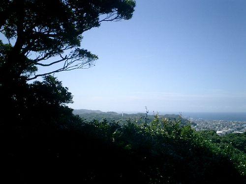 025) 「勝上嶽展望台」。パノラマ左左_9:41am
