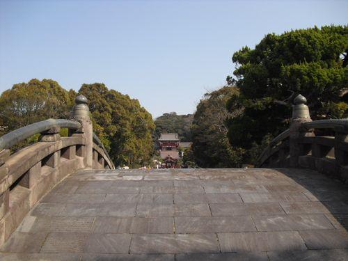 13) 鎌倉「鶴岡八幡宮」_太鼓橋