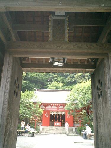 03) 鎌倉市二階堂[荏柄天神社 」 夏