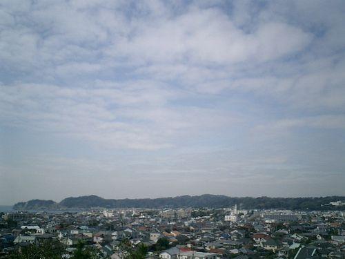 10) 鎌倉市大町「安国論寺」_富士山は見られなかったが、'富士見台'か