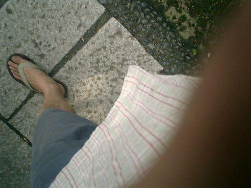 06)私の左足