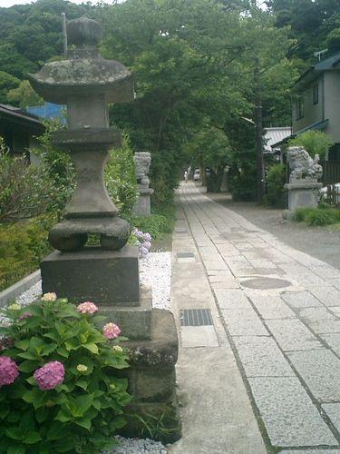 01) 「五所神社」_鎌倉市材木座