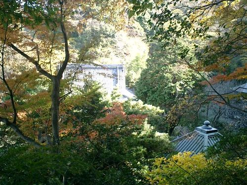 10) 鎌倉「安国論寺」紅葉の季節