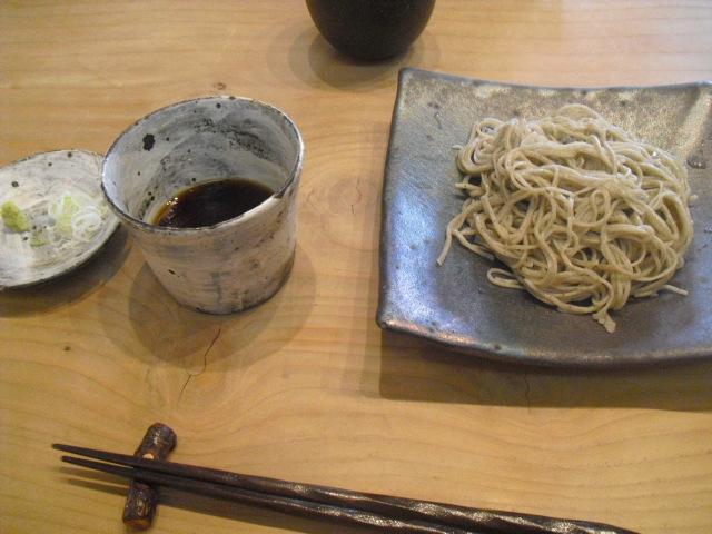 01) 「十割蕎麦」¥900_蕎麦「梵蔵」