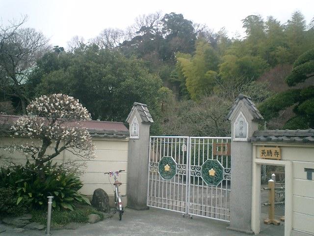 02) 鎌倉「英勝寺」_参拝時の通用門