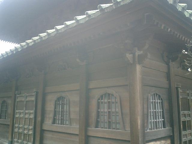 13) 鎌倉「英勝寺」_仏殿(寳珠殿)左側面。