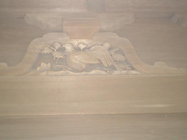 15) 鎌倉「英勝寺」_仏殿(寳珠殿)左側面の彫刻、中。