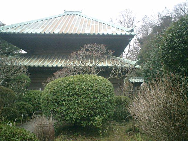 17) 鎌倉「英勝寺」_仏殿(寳珠殿)右側面。