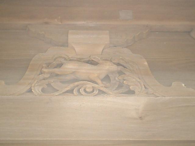 18) 鎌倉「英勝寺」_仏殿(寳珠殿)右側面の彫刻、左。