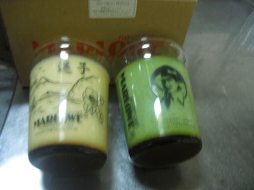 04) ピンボケ写真だけど、逗子店限定ビーカーの「北海道フレッシュクリームプリン」税込¥787&「抹茶プリン」税込¥735。ある程度価格は知っていたが、値段も見ずテキトーに注