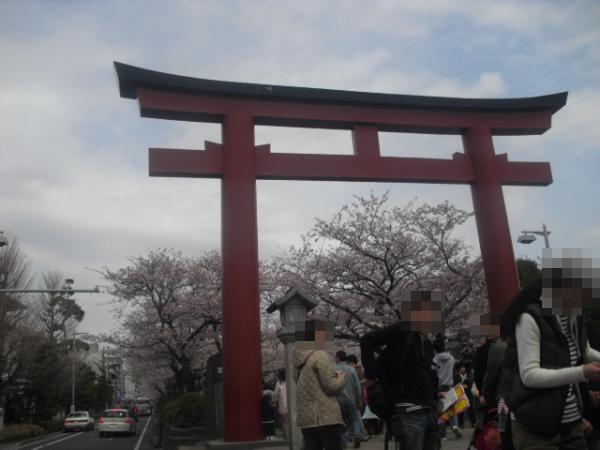 """02) 鎌倉「鶴岡八幡宮」 """" 二の鳥居 """""""