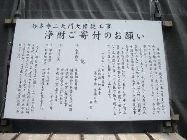 08)  謹んで参拝祈願いたしました。鎌倉「妙本寺」桜満開の頃。_  11.04.10
