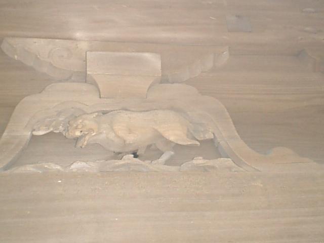 19) 鎌倉「英勝寺」_仏殿(寳珠殿)右側面の彫刻、中。(20は欠。編集中に写真を紛失した)