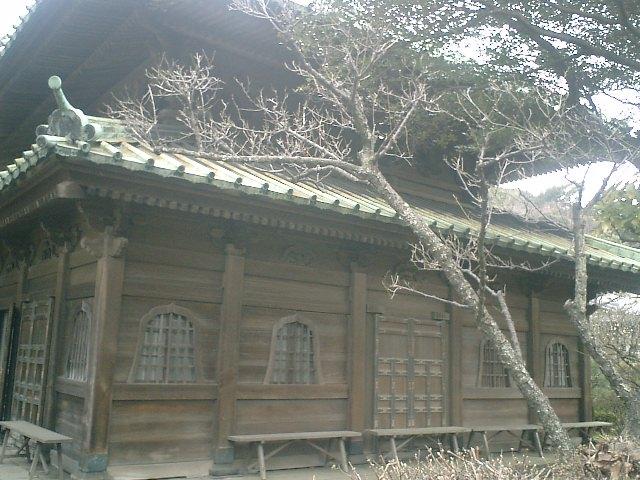 21) 鎌倉「英勝寺」_仏殿(寳珠殿)背面(通用門側)。