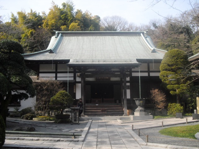 J03) 竹林庭園の寺「報国寺」