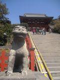 10) 吽形獅子像