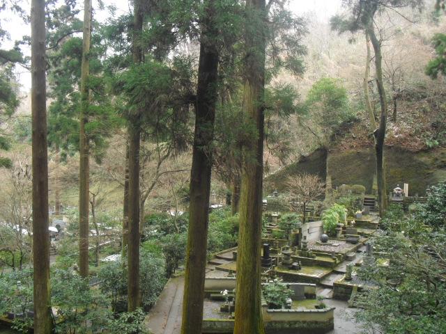 28) 雪の日、鎌倉「東慶寺」梅の頃。11.02.12