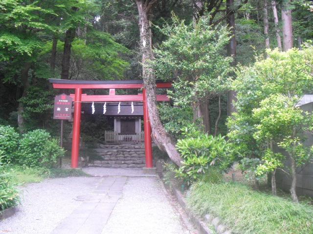 01) 鎌倉「新宮神社(今宮)」 _ 9:34am頃~