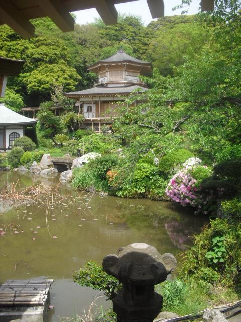 05) 鎌倉「光明寺」記主庭園にツツジ咲く頃 _ 11.05.02