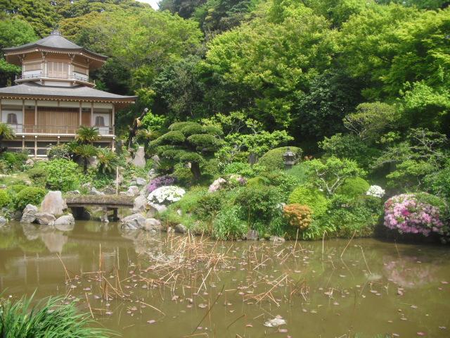 06) 鎌倉「光明寺」記主庭園にツツジ咲く頃 _ 11.05.02