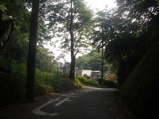 09) トンネルを出て直ぐの前方を撮った _ 09:42am