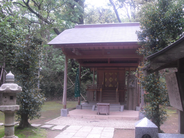 02) 本殿 _ 鎌倉「葛原岡神社」
