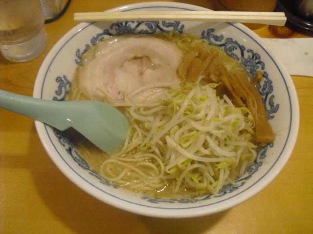 「味噌ラーメン」 _ ¥600 _ 「静雨庵」 鎌倉市御成町