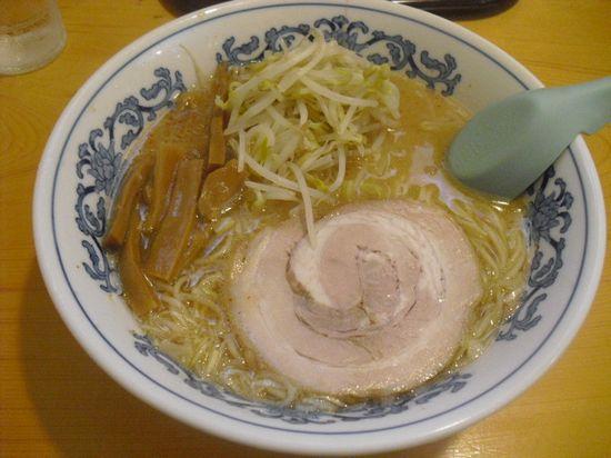 「味噌ラーメン」 ¥600 _ 「静雨庵」