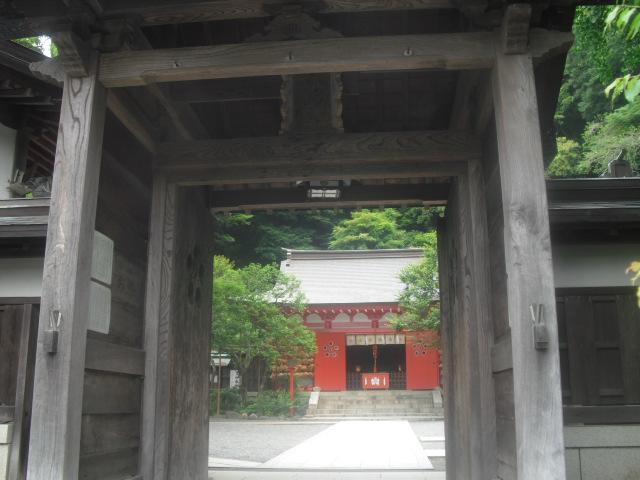 02) 鎌倉「荏柄天神社」