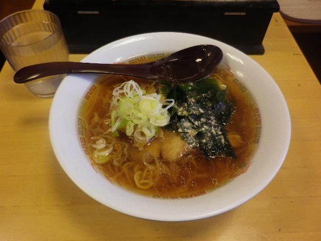 「ラーメン」 ¥380 _ 「大船軒」 JR逗子駅店