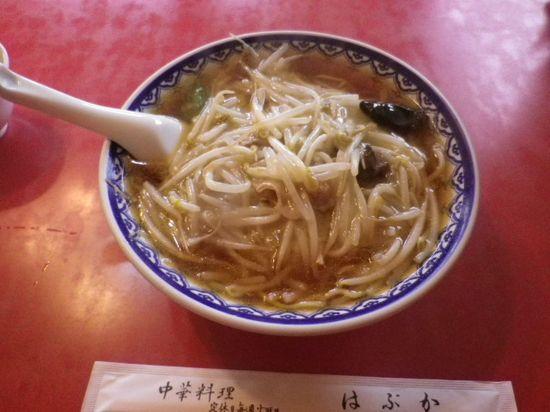 「もやしそば」 ¥700 _ 「はぶか」 鎌倉市大町