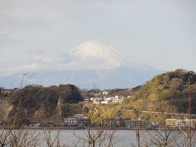 11-03) 富士山が鮮明に見えた _ 10:57am