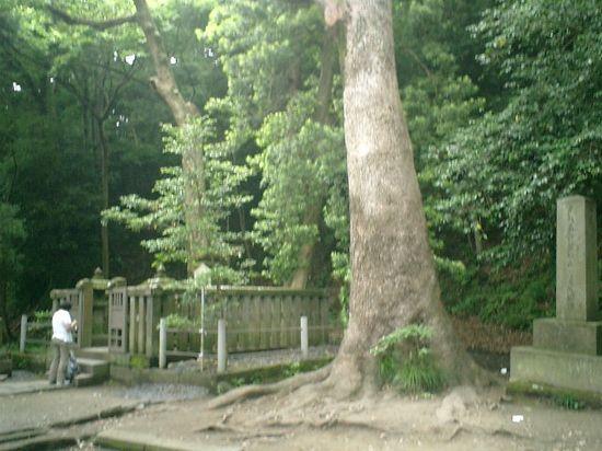 138) '伝'「源頼朝 墓所」_Y.K.氏_鎌倉市西御門_12:48pm