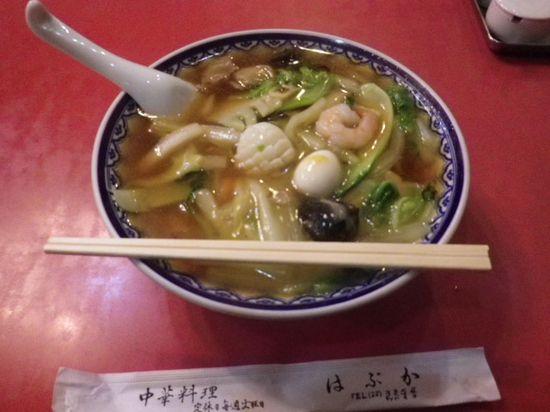 「広東麺」 ¥900 _ 「はぶか」 鎌倉市大町