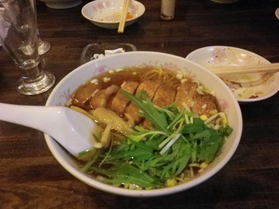 15-04) 私M.O.1号が食った 「パイコー麺(排骨麺)」 ¥900 _ 13:10pm頃~
