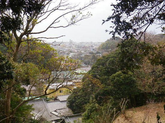 4-15) ' 四階 ' 「冷泉為相 墓」からの眺望