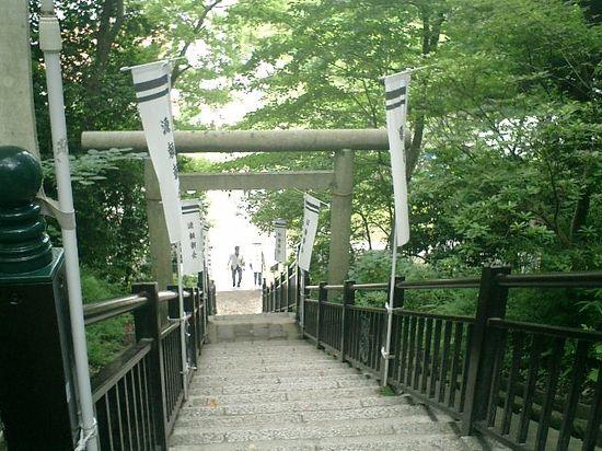 139) '伝'「源頼朝 墓所」_鎌倉市西御門_12:48pm
