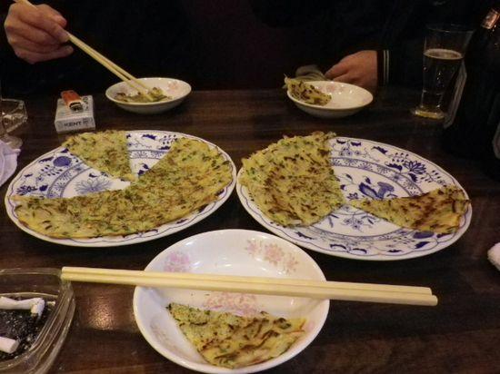 15-02) 「特製シラス焼」 ¥650 x2