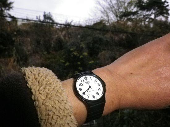 1-01)2012.01.03_ 7:40am頃、友人たちと待ち合わせの鎌倉駅向けて出発。(自宅:昨年暮れ12/30を以て実家へ引っ越した。)_ 7:41am頃
