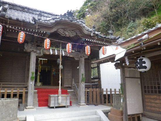1-35) 「五所神社」 社殿