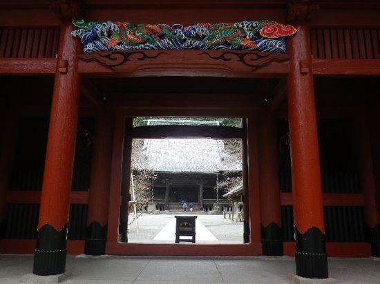 01) 鎌倉「妙本寺」二天門  _ 鎌倉市大町