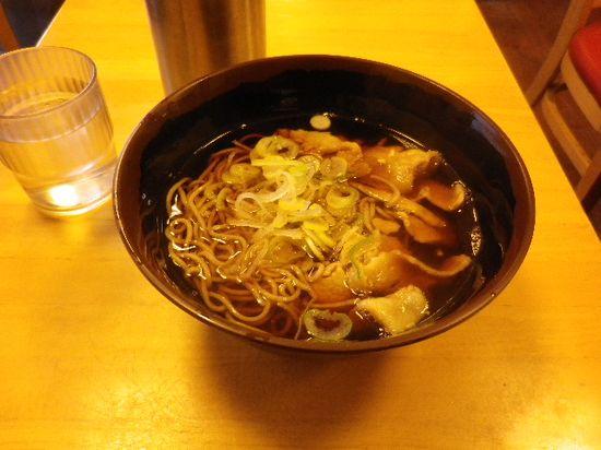 「肉そば」 ¥390 _ 「大船軒 JR逗子駅前店」 _ 逗子市逗子