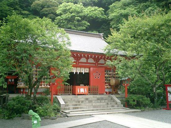 126) 「荏柄天神社」_鎌倉市二階堂_12:25pm