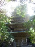 11-06) 神奈川県には三箇所の五重塔が在るが、' 純木製 ' は「龍口寺」唯一で他はコンクリート製とのこと。