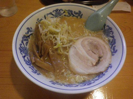 「味噌ラーメン」 ¥600 _ 「静雨庵」 鎌倉市御成町