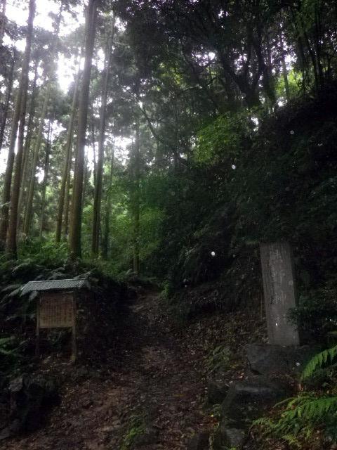 21) 「熊野神社」への登り口 _ 10:41am頃