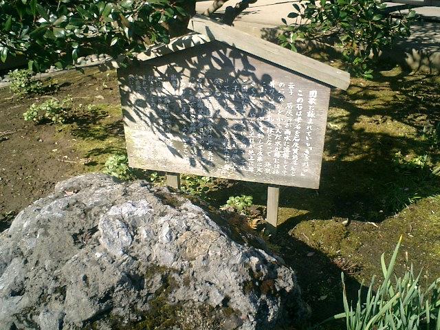 14)東慶寺、「さざれ石」