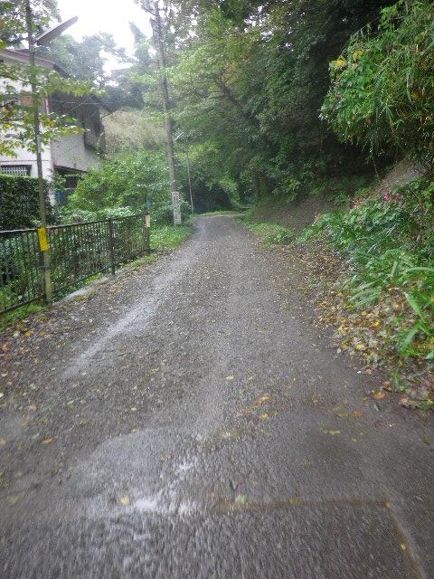 02)  民家と舗装路が途切れる境界付近 _ 10:24am頃