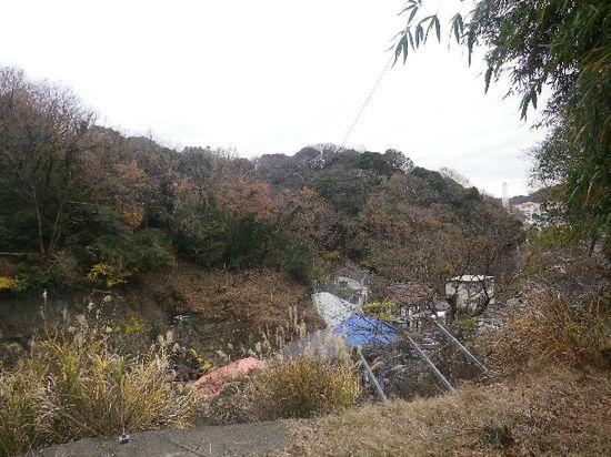08-03) R134「飯島トンネル」の上辺り