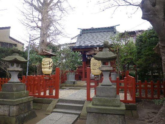 08-02) 参拝。社殿間近からの正面撮影を憚った。